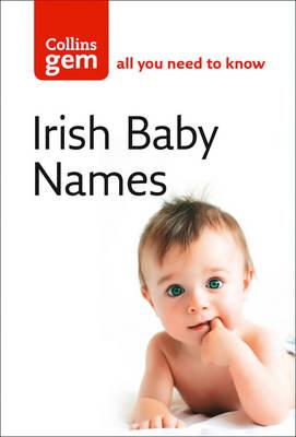 Collins Gem: Irish Babies Names