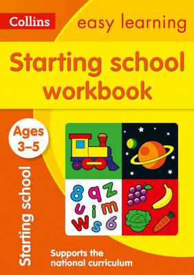 Collins Easy Learning Preschool: Starting School Workbook Ages 3-5