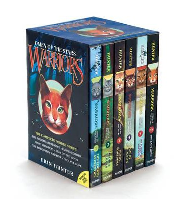 Warriors: Omen of the Stars Box Set