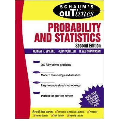 schaum outline statistics and probability pdf