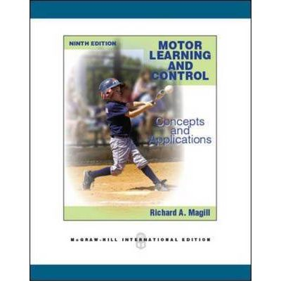 Motor Learning And Control Richard A Magill 9780071289405