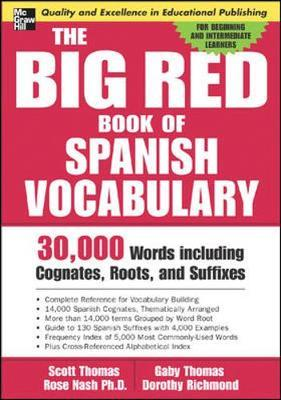 Omar Clinton: The Big Red Book Of Spanish Vocabulary PDF