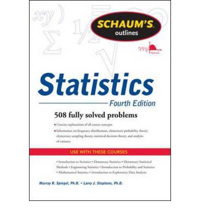 Schaums Outline of Statistics
