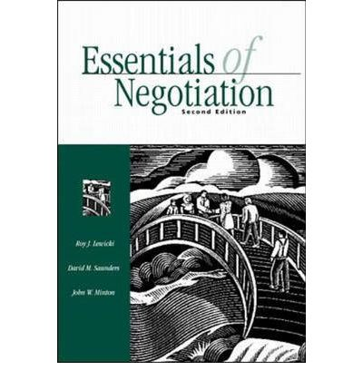negotiation by lewicki Negotiation 2nd edition is a must read for both the novice and the professional who engages in negotiation this book is packed with the latest developments in the theory and practice of the negotiation process and conflict management.