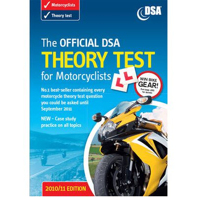 The Official DSA Theory Test for Motorcyclists Book 2010-2011