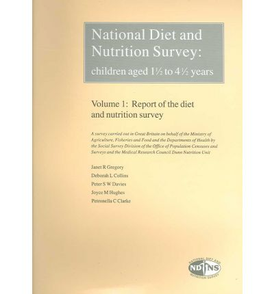 National Diet and Nutrition Survey: Report of the Dietary and Nutrition Survey Volume 1 : Children Aged 1 1/2 to 4 1/2 Years