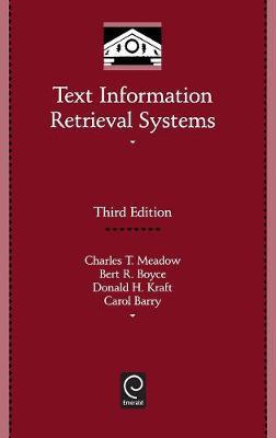 Text Information Retrieval Systems