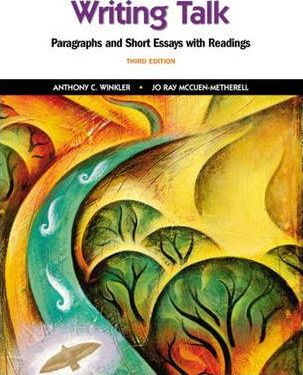 get writing paragraphs and essays with readings