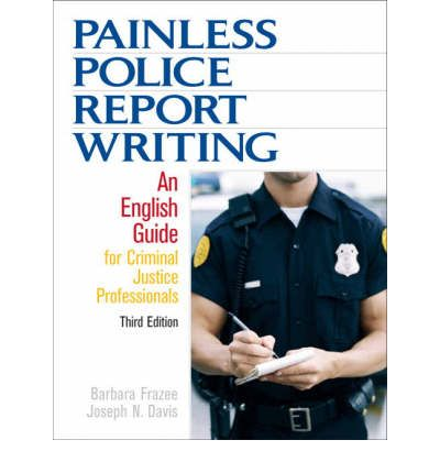police report writing books
