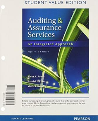 auditing and assurance services in australia pdf free