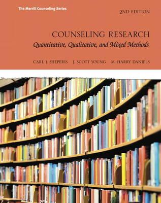 Counseling Research : Quantitative, Qualitative, and Mixed Methods