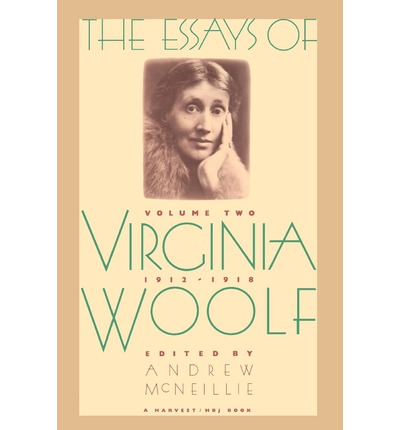 1912 1918 2 essay virginia vol woolf