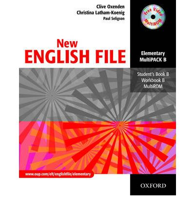 New English File: Elementary: Multipack B : Six-Level General English Course for Adults