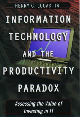 the productivity paradox a clash And the modern productivity paradox: a clash of expectations and statistics ∗ (this is a minor revision of nber working paper no 24001) ma, 11 jun.