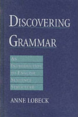 english sentence structure book pdf