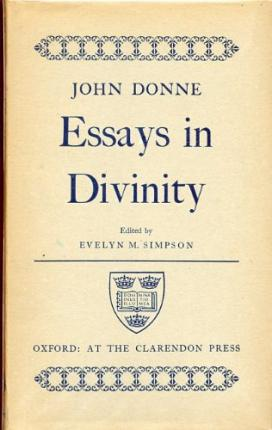 donne essay john Essays and criticism on john donne - donne, john - (poetry criticism.