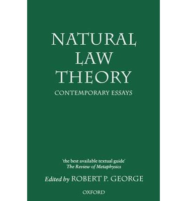 a question on the natural law philosophy Article as the 2007 john dewey lecture in philosophy of law at harvard law  school on  the question then arises: can natural law—assuming that there  truly.