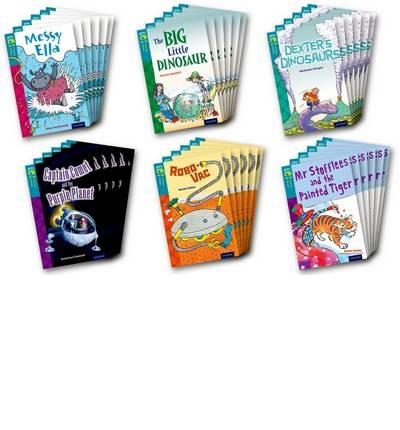 Oxford Reading Tree TreeTops Fiction: Level 9: Pack of 36