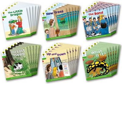 Oxford Reading Tree: Level 2: More Patterned Stories A: Class Pack of 36