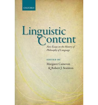 An essay in the philosophy of language