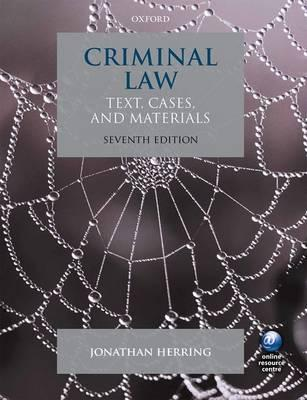 herrings theory of criminal law 1 theories of punishment 11 retributive theory 12 preventative theory 13 individual deterrence 14 general deterrence 15 reformative / rehabilitation theory 16 combination theory 2 south african criminal law 21 introduction 3 elements of criminal liability 31 act or conduct.