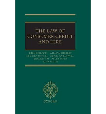 The Law of Consumer Credit and Hire