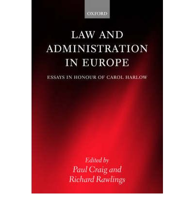 Law and Administration in Europe