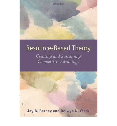 resource based view theory Resource-based theory, dynamic capabilities, and real options a lthough early contributions to resource-based theory and dynamic capabilities came from the discipline.