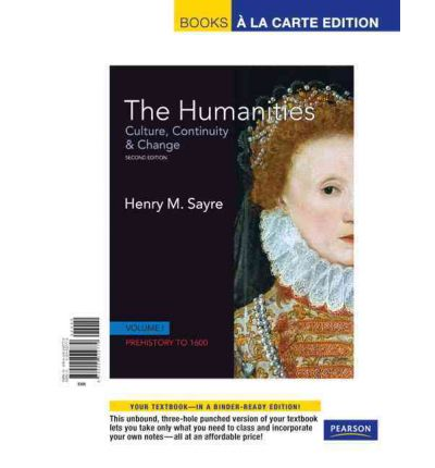 sayre the humanities book 5 Books by henry sayre henry sayre the humanities(2nd edition) culture, continuity and change, book 1: prehistory to 200 ce (humanities: culture, continuity & change) by henry m sayre paperback, 264 pages, published 2011 by pearson isbn-13.