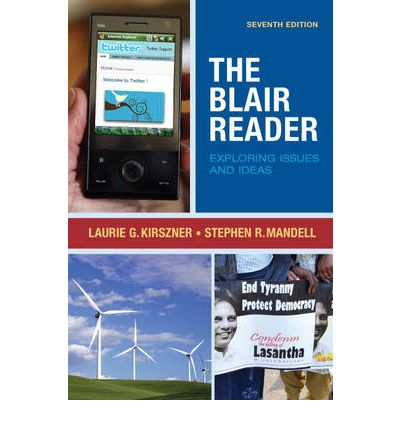the blair reader Buy blair reader 9th edition (9780134110370) by kirszner for up to 90% off at textbookscom.