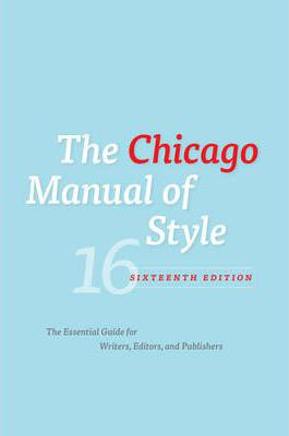 university of chicago style The chicago manual of style (abbreviated in writing as cmos [the acronym used on its website] or cms, or sometimes as chicago) is a style guide for american english.