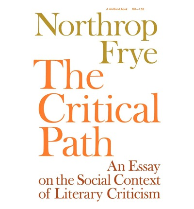 archetypal literary criticism essay Archetypal criticism depends heavily on symbols and patterns  the basis of  archetypal criticism is that all literature consists.