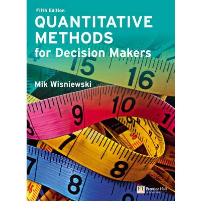quantitative methods for business essay Essay & coursework  limitations and weakness of quantitative research methods  research methods for business students 5th ed, essex,.