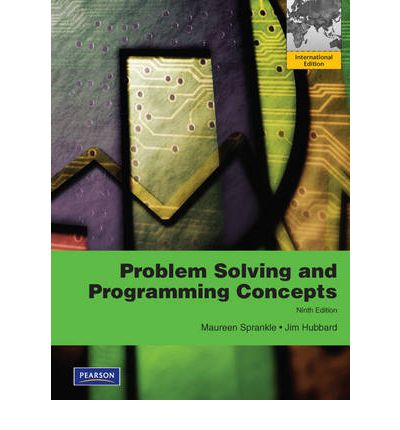 Problem solving and programming concepts maureen sprankle