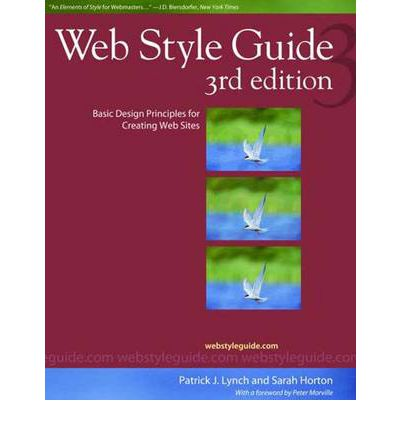 web style guide patrick j lynch 9780300137378 web style guide 3 edition Sample Website Style Guide