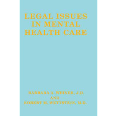 responding to legal issues in mental Running head: ethical and legal issues 1 unit 9 responding to ethical and legal issues byron holmes coun5217: ethical legal issue in professional counseling september 10, 2016 dr joe holt responding to ethical and legal issues ethical and legal dilemmas are experienced by counselors regardless of what job placement they have.