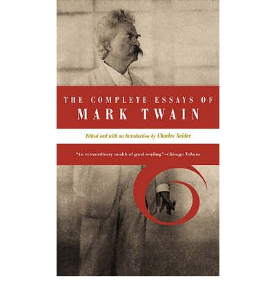 mark twain at EssayPedia.com