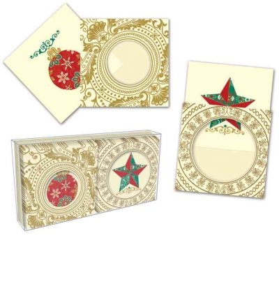 Holiday Motif Gift Enclosures