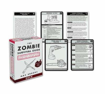 Zombie survival guide deck max brooks 9780307406453 for Zombie balcony