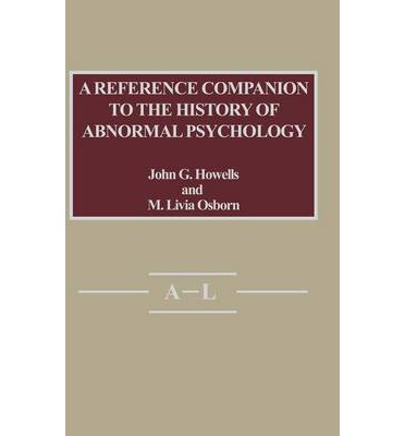 Abnormal Psychology and Page Reference