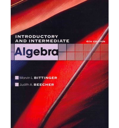 intermediate algebra paperback The fundamental goal in tussy and gustafson's intermediate algebra, third edition is to teach students to read, write, and think about mathematics through building a conceptual foundation in the language of mathematics.