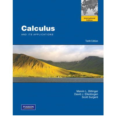Calculus and Its Applications 13th Edition = INSTRUCTOR'S ANNOTATED EDITION
