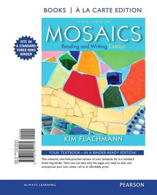 mosaics reading and writing essays answers Find 9780134021676 mosaics : reading and writing essays 7th edition by flachmann at over 30 bookstores buy, rent or sell.