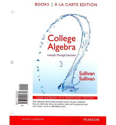 College Algebra : Concepts Through Functions, Books a la Carte Edition Plus New Mymathlab -- Access Card Package