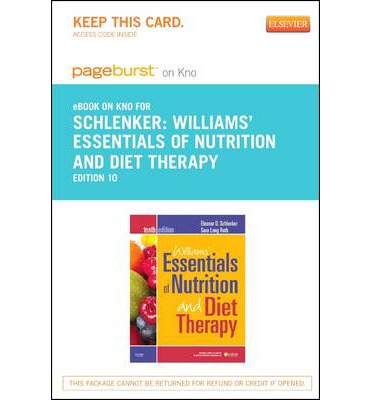 Williams Essentials of Nutrition and Diet Therapy 10th edition Roth Test Bank