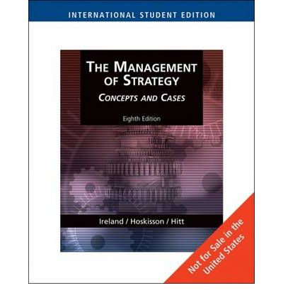 The management of strategy concepts and cases 9th edition