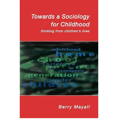 childhood sociology and children Institutions) and anthropology (a neighboring field that emphasizes the study of culture) when children did come into the view of anthropologists, they were.