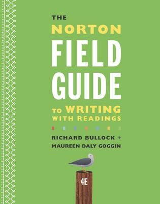 the norton field guide to writing The norton field guide to writing's flexibility and ease of use have made it the  leading rhetoric text on the market—and a perfect choice for committees.