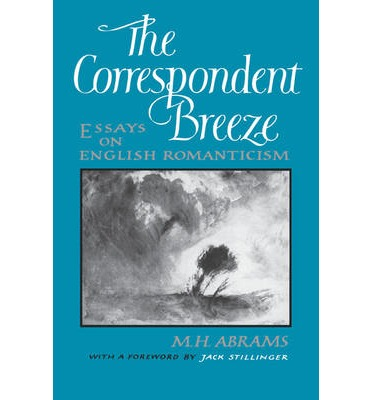 The corresponding breeze essays in english romanticism