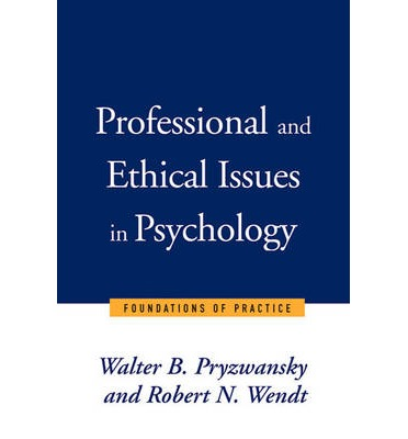 ethics and professional practice for psychologists pdf